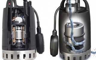Дренажные насосы Grundfos Unilift: модели, характеристики