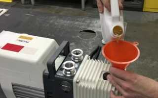 Масло для вакуумных насосов: какое заливать?