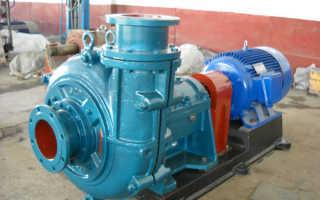Шламовый насос: погружной, электрический, центробежный