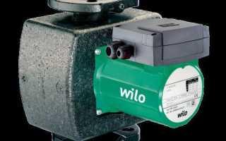 Циркуляционный насос Wilo (Вило) для отопления: характеристики
