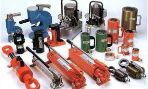 Гидравлический насос (гидронасос): ручной, высокого давления