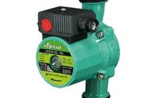 Повысительный насос для водопровода (холодного водоснабжения, воды)