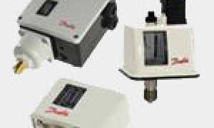 Реле давления Danfoss (Данфосс): устройство, назначение