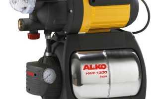 Насосные станции Алко (Al Ko): модели, характеристики