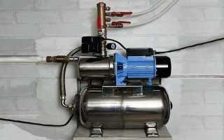Насос для повышения давления воды (повышающий) в водопроводе