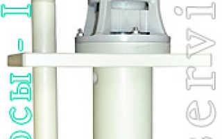 Вертикальный насос: полупогружной, центробежный, шнековый