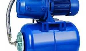 Бак насосной станции (автоматической) для воды: давление