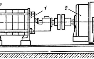 Насосный агрегат с электродвигателем: центровка